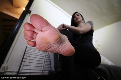 Gothic Foot Models videos